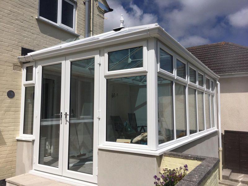 a beautiful new conservatory